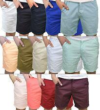 Soulstar Hombre Diseñador Marca Estilo Informal Verano Chino Pantalones Cortos