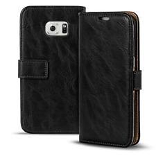 Handy Tasche Samsung Galaxy S6 Edge Plus Flip Cover Case Schutz Hülle Wallet