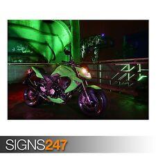 2008 KAWASAKI Z1000 (AC445) Vélo Poster-Photo Poster print ART A0 A1 A2 A3 A4