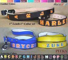 Dog Collar with Name - Custom Dog Collars and Leashes - Large Dog Collar