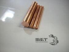 Kupfer Stab Vollstab Stange E-Cu ab Ø 3-40 mm, Ø + Länge wählbar