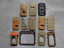 Playmobil - Mauerteile einzelnd / verschiedene -Ritterburg 3666 / 3667 / 3665