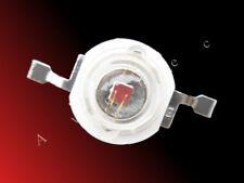 3W High Power LED tiefrot / rot / hyper red 660nm - 800mA - 3 Watt Hi-Power LED
