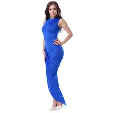 Suzanjas asymmetrisches Abendkleid in blau, Größe 38 - 44/ L - XXL