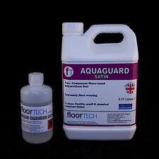 Waterbased Heavy Duty (Commercial) Polyurethane Floor Seal / Varnish - 2.5 Litre