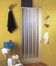 Box porta doccia un lato a soffietto laterale in pvc FREE