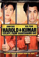 Harold & Kumar Escape from Guantanamo Bay (DVD, 2008) Brand New
