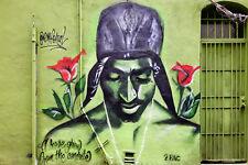 Splendido Tupac Shakur Graffiti foto su tela #78 wall art street art canvas