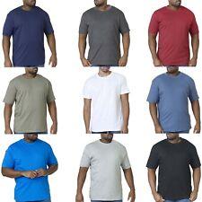 Duke D555 Mens King Size Big Tall Flyers Premium Cotton Crew Neck T-Shirt Tee
