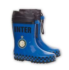 Stivali in gomma antiacqua F.C. Internazionale stivaletti tifosi Interisti *2476