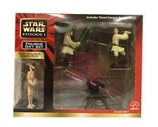 Star Wars Episode 1 PVC Figurine Set With Bonus Figure