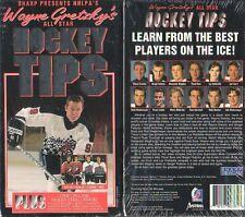 SEALED WAYNE GRETZKY ICE HOCKEY VIDEO HOW TO PLAY TIPS!