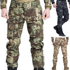 Herren Tactical Kampf Ranger Jagdhose Trekking Cargo Outdoor Lang Tarnung Hose