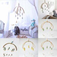 home wooden bead wind bell baby crib children room decoration gift model ro B3M2