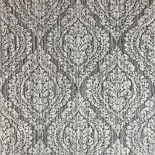 Wallpaper gray rustic wallcovering textured vintage retro diamond damask 3D roll