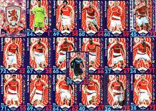 Match Attax 2016/17 Middlesbrough - Topps Base football Cards 2017 16/17