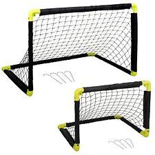 Foldable Mini Football Soccer Training Futsal Garden Indoor Outdoor Kids Goals