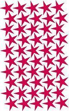 Aufkleber 50 Sterne jeder Stern 5cm Auto, Bike, Roller