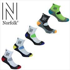 Norfolk Running Microfiber Cushioned Men's Sock Style: ABRAHAMS
