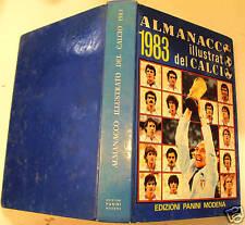 ALMANACCO DEL CALCIO PANINI 1983 buono++ leggi