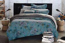 King-Sheridan Cheyenne Cotton Chambray Quilt Cover Pillowcases Set