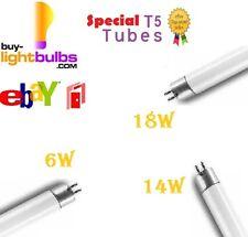 2x NEW T5 Special Size Fluorescent Tubes 6W/14W/18W White Bulb Lamp BNIB