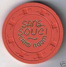 Sans Souci 12 1/2¢  Casino Chip Las Vegas Nevada