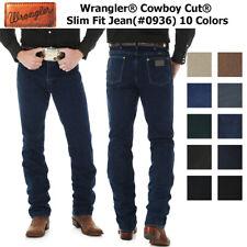 Wrangler Men's 0936 Cowboy Cut Slim Fit Jeans