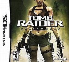 Tomb Raider: Underworld (Nintendo DS, 2008) VG