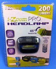 200 Lumens Headlamp Light Adjustable w/COB Technology & 45 Degree Tilt - GREAT $
