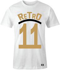 """""""RETRO 11"""" T-Shirt to Match Air Retro 11 """"Metallic Gold"""" Closing Ceremony"""