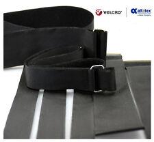 ALFATEX ® da velcro ® marca fibbia in metallo resistente regolabile cinturino in velcro