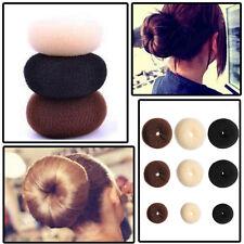 Girls Updo Styling Tools Doughnut Bun Ring Shaper Hair Accessory Fashion Jewelry