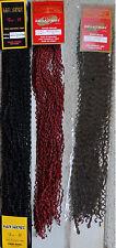 SAM SUNG IMEX micro soul braid wavy weaving extension hair,#6 brown,#118 red