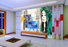 3D New Yorker Mädchen 68 Tapete Tapeten Mauer Foto Familie Tapete Wandgemälde