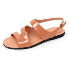 D0492 sandalo basso donna TOD'S scarpa rosa salmone shoe woman