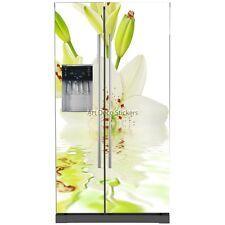 Stickers frigo américain Fleur 5745 5745