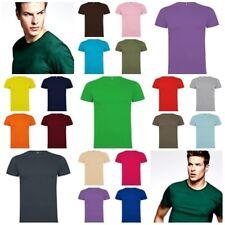 Camiseta Hombre manga corta. 100% Algodon. Gran variedad Colores y Tallas. Dogo