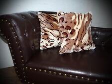 Kissen Kissenhülle Dekokissen im Tierfell - Design Modell Tiger - Design hell