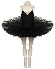 Cisne Blanco O Cisne Negro Halloween Disfraz Tutú de capa de red meseta 7 rígido