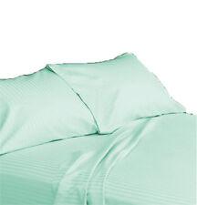 Set of 2 piece Pillowcase pair 1000 TC Egyptian Cotton Stripe All Sizes & Colors