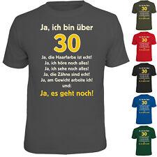 Fun T Shirt Funshirt zum 40 Geburtstag  40sten 40 zigsten Geburtstagsgeschenke