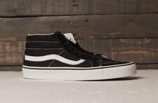 Vans shoes man Sk8-mid reissue (retro sport) black/true white skate sneakers