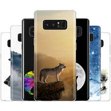 dessana Wolf Wölfe TPU Silikon Schutz Hülle Case Handy Tasche Cover für Samsung
