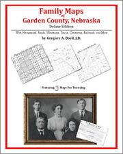 Family Maps Garden County Nebraska Genealogy NE Plat