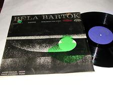 BARTOK Gertler Andersen STEREO SUPRAPHON LP NM/NM-!