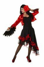 WIL - Damen Kostüm Spanierin Flamenco Karneval Fasching