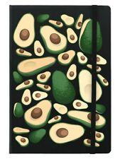 Avocado Frenzy A5 Black Notebook 14x21cm