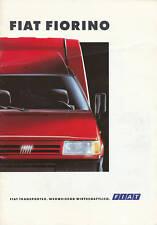 FIAT FIORINO PROSPEKT 11/93 brochure 1993 auto prospetto auto automobili opuscolo ITALY
