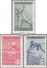 Jugoslawien 557-559 (kompl.Ausg.) postfrisch 1948 Balkanspiele EUR 4,50